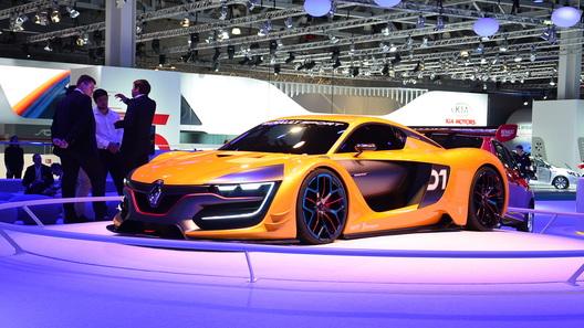 Renault снабдила новый спорткар двигателем от Nissan GT-R