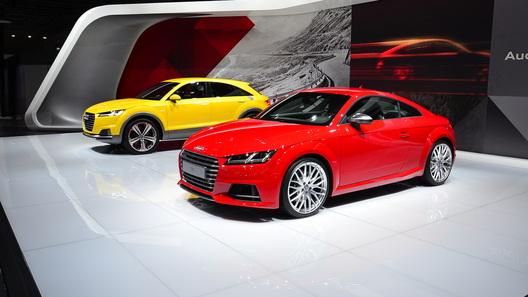 Audi TT предстала в Москве в образе купе и кроссовера