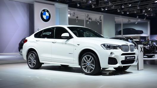 Новый BMW X4 представлен на Московском автосалоне