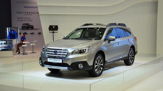 Новый Subaru Outback появится весной следующего года