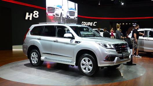 Китайский аналог Land Cruiser Prado появится в России
