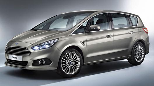 Рассекречен минивэн Ford S-Max нового поколения