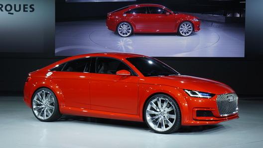 Audi TT превратили в пятидверный хэтч