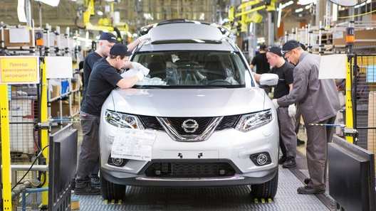 Nissan начал российское производство нового X-Trail