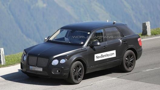 Первый кроссовер Bentley получит три двигателя на выбор