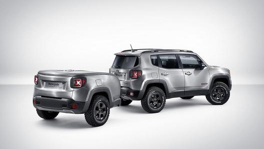 Jeep Renegade снабдили