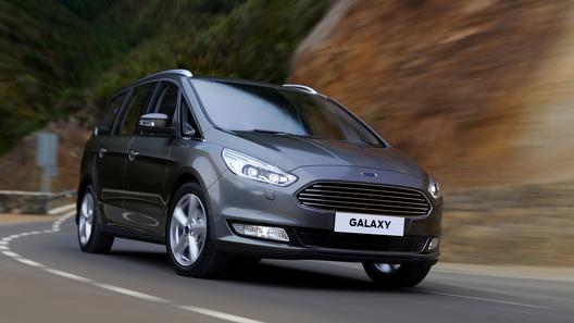 Компания Ford показала абсолютно новый минивэн Galaxy