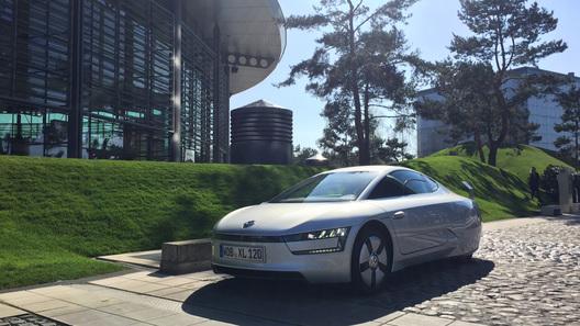 Тест-драйв Volkswagen XL1: первые впечатления