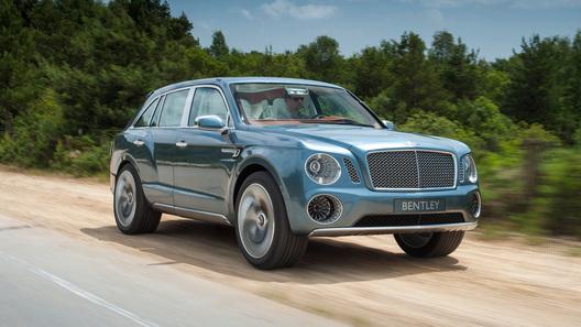 Кроссоверов от Bentley станет больше