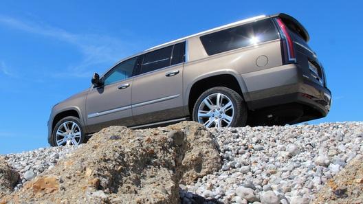 Тест-драйв Cadillac Escalade - первые впечатления