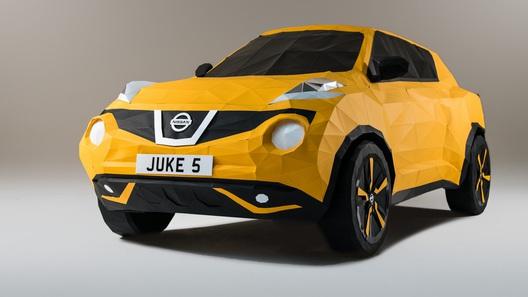 Nissan использовал технологии оригами для создания новой версии Juke