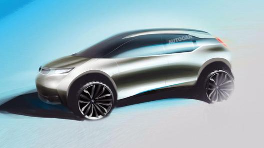 В BMW задумали электрический кроссовер
