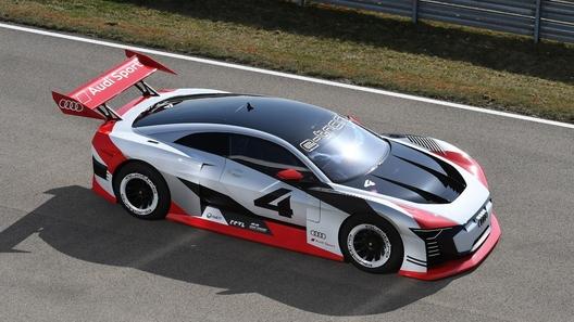 Audi превратила гоночный концепт для видеоигр в реальный электрокар-такси