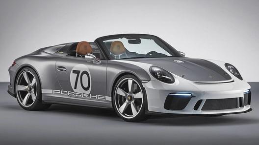 Porsche выпустила ретро-спидстер на базе 911