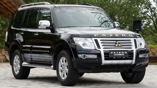 Mitsubishi представила обновленный Pajero (пока для Китая)