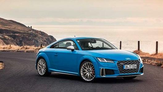 Рассекречены детали рестайлинга купе Audi TT