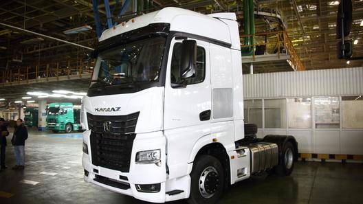КамАЗ начал выпускать очень красивые грузовики