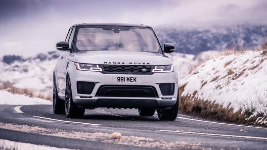 Range Rover Sport с электронаддувной рядной