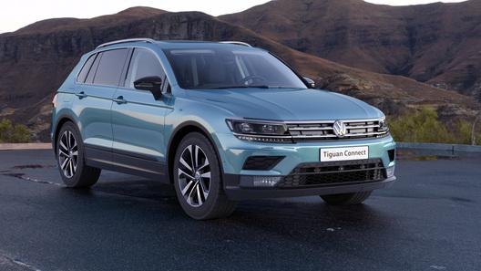 Российский Volkswagen Tiguan получил