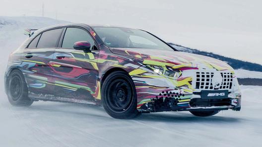 Новый Mercedes-AMG A 45 станет мощнее и слабее одновременно