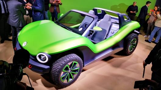По пляжу с ветерком: Volkswagen представил багги-конструктор