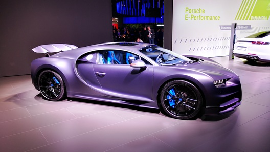 Новый Bugatti Chiron поможет марке отметить 110-летний юбилей