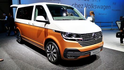 Volkswagen представил в Женеве обновленный Multivan (Transporter на очереди)