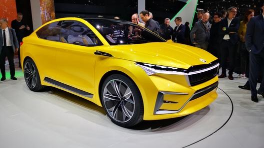 Skoda представила в Женеве электрическое кросс-купе
