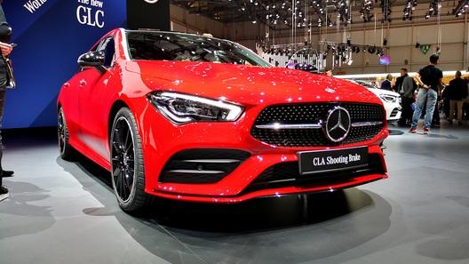 Новый Mercedes-Benz CLA стал универсалом Shooting Brake