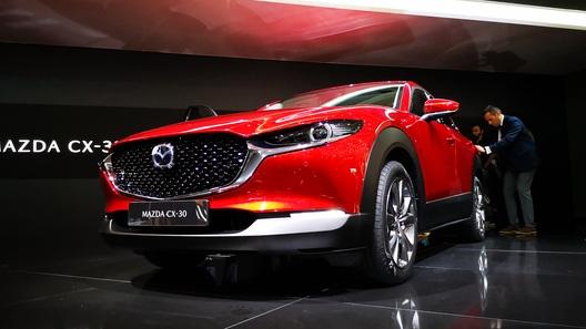 Известны детали моторной гаммы кроссовера Mazda CX-30