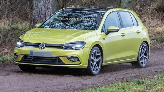 Вот так будет выглядеть новый Volkswagen Golf 8!
