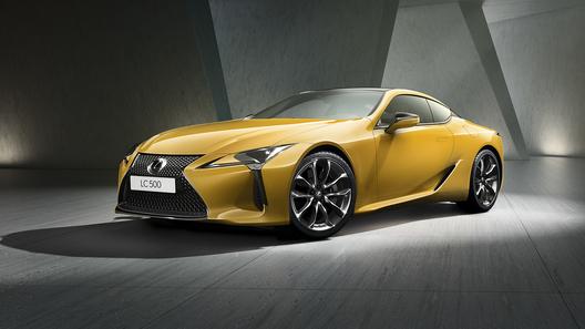 Дьявольски привлекательный Lexus LC Yellow Edition – уже в России