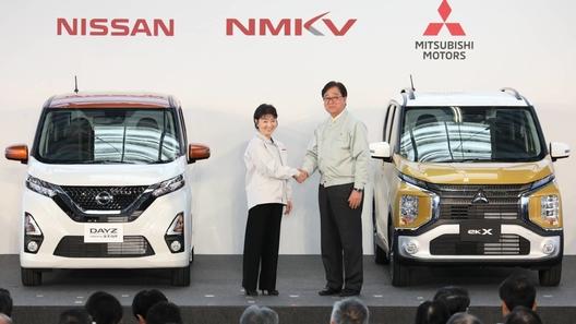 Nissan и Mitsubishi сообразили на двоих в формате