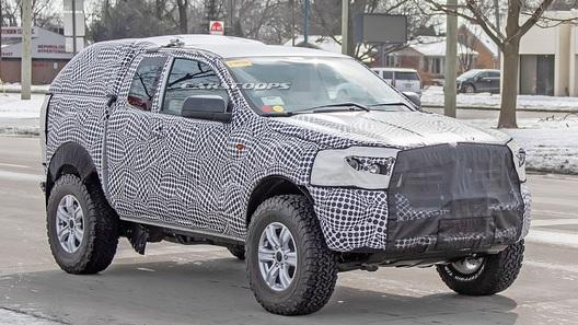 Как Wrangler: новый Ford Bronco будет превращаться в кабриолет