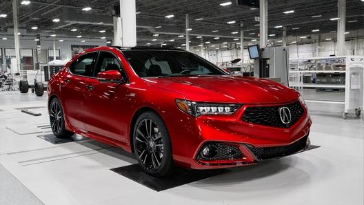 Седан Acura TLX получил спецверсию в стиле суперкара NSX
