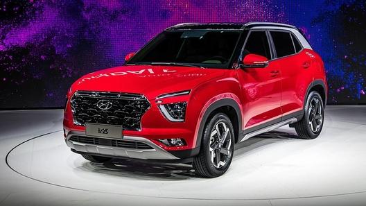 Hyundai сделала новую Creta в стиле