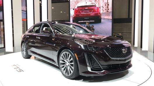 Новый Cadillac CT5 обещает стать конкурентом BMW 5 серии