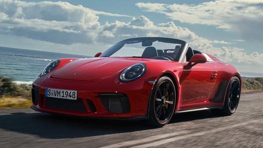 Porsche отправила ностальгический 911 Speedster на конвейер