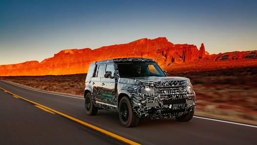 Новый Land Rover Defender: испытания близятся к завершению, скоро премьера!