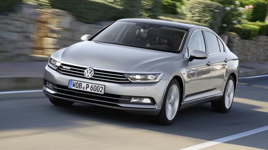 Volkswagen Passat получил в России бизнес-версию