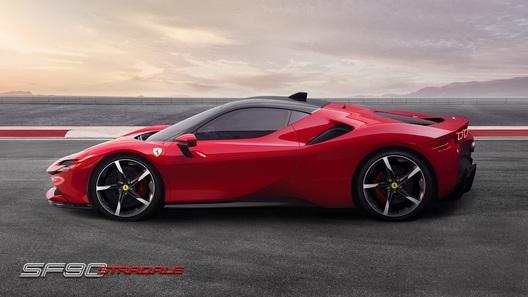 Ferrari представила гиперкар SF90 – самый мощный в истории!
