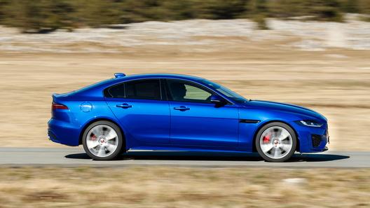 Названы российские цены на обновленный Jaguar XE