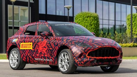 Стартовала сборка кроссовера Aston Martin DBX