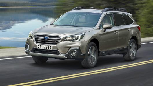 Названы рублевые цены на обновленный Subaru Outback 2019 года