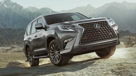 Lexus представил обновленный внедорожник GX