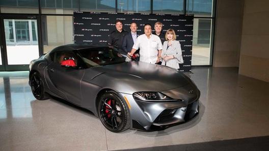 Первый экземпляр Toyota Supra продали за 132 млн рублей