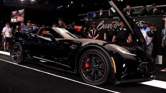 Последний экземпляр Chevrolet Corvette C7 оказался дороже Bugatti Chiron