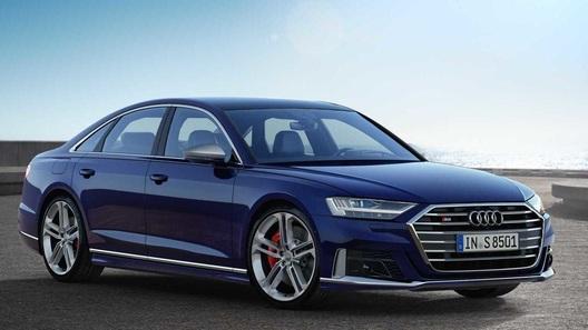 Представлен очень быстрый и очень роскошный седан Audi S8