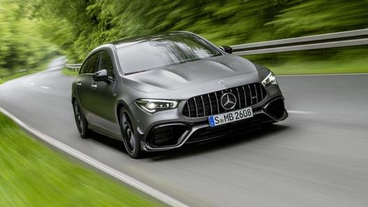 Mercedes-AMG представил очень компактный и супербыстрый универсал