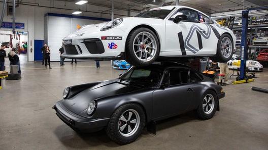 Представлен уникальный Porsche 911 с мультифункциональной крышей